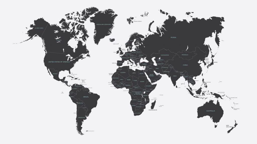 world map validation