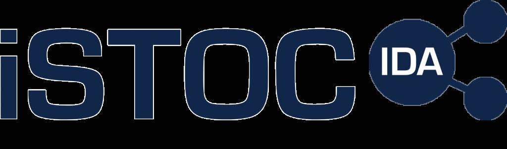 iSTOC logo - blue no slogan